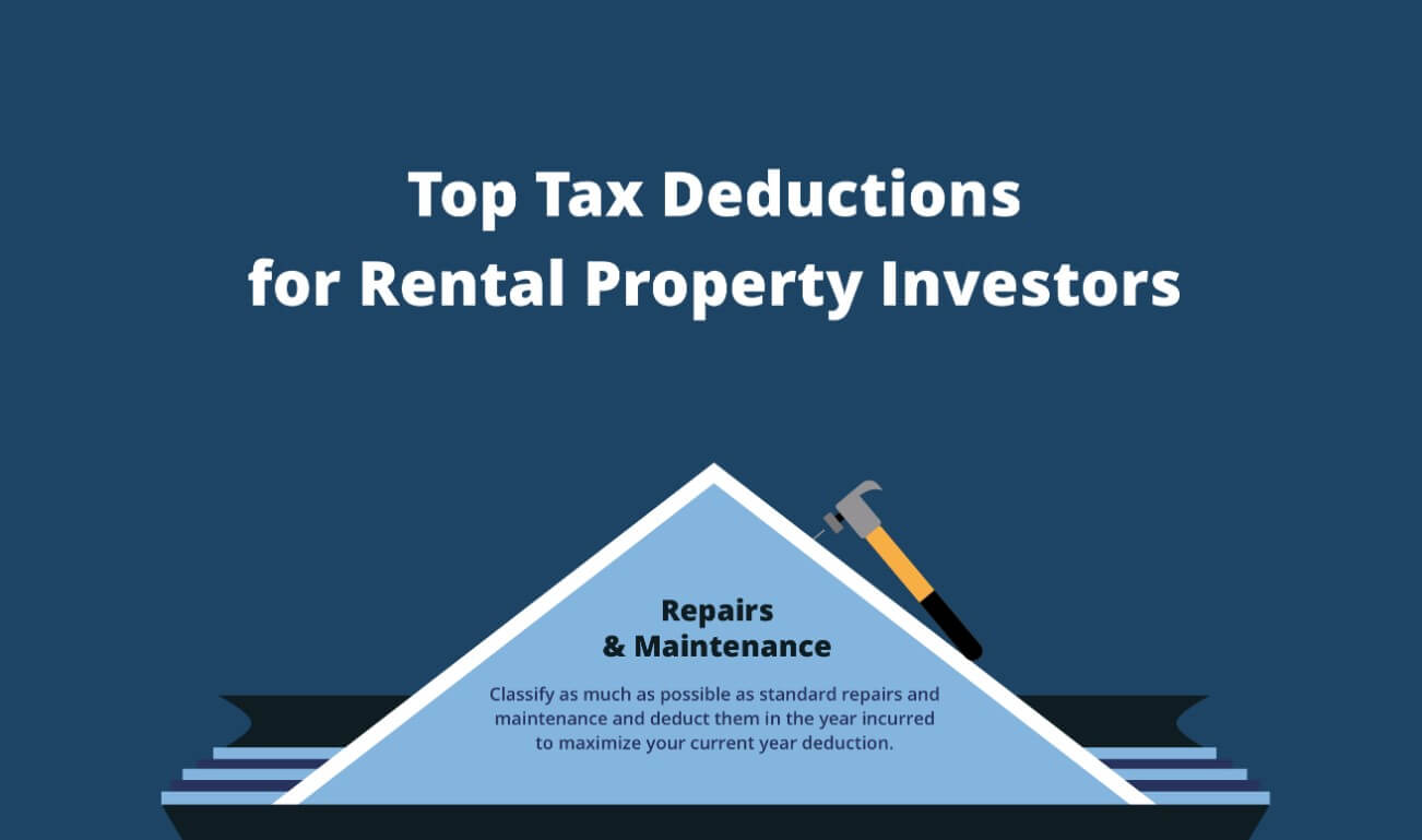 Tax deductions for real estate investors 2019